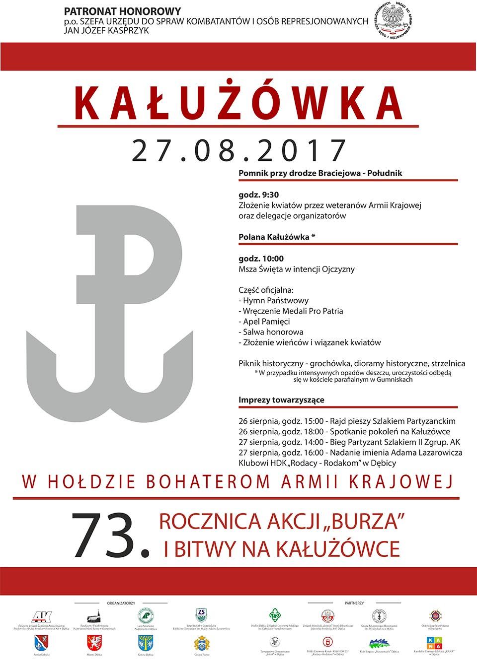 Plakat Kałużówka 2017